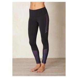 Prana Black Kaleidoscope Ergo Leggings Full Length